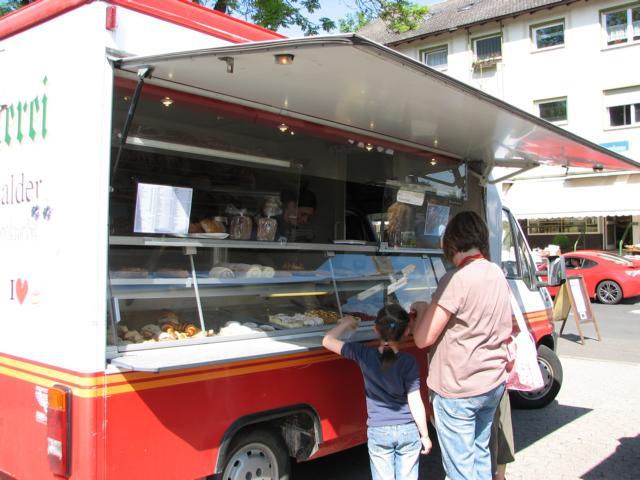 Bäckerei Valder auf dem Bad Bodendorfer Wochenmarkt